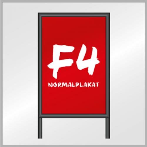 F4 Normalplakat (Blueback)