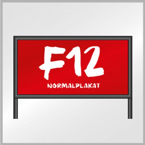 F12 Normalplakat (Blueback)